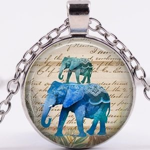 Necklace- NEW- Wild African Elephant